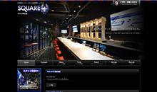 スポーツカフェSQUARE郡山店様ウェブサイト